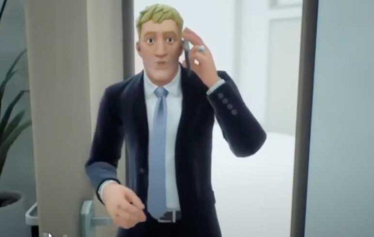 そして又。オフィスに戻りそこである情報を聞いてしまったのか?
