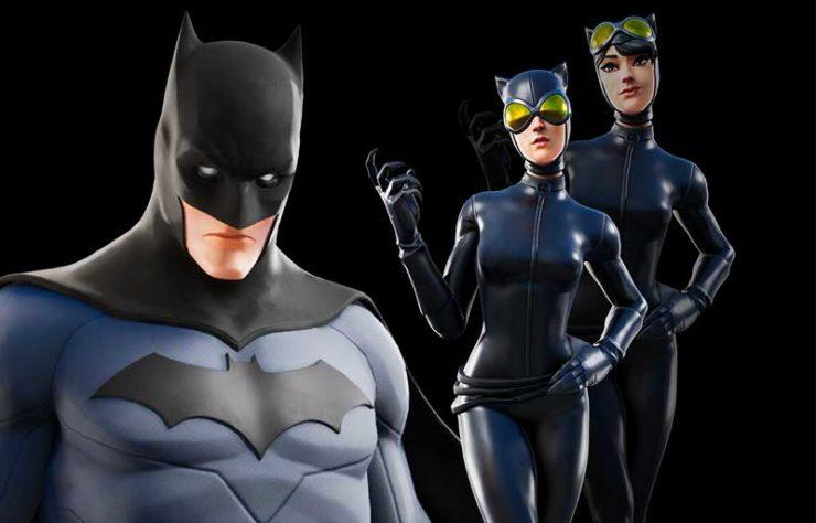 バットマンとキャットウーマン