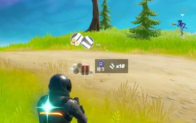 弾が無い味方がいた場合、弾を渡す。