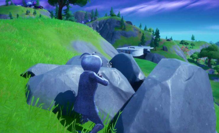 岩の色に似ている