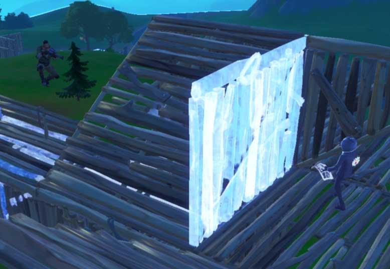 フォートナイトで一番重要で覚える建築は壁!